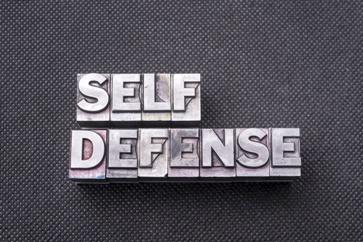 Self-Defense Letter Stamps