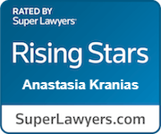Anastasia T. Kranias Super Lawyers Rising Star Badge