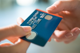 Credit Card Being Used for Credit Card Fraud
