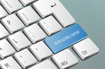 Blood Alcohol Content Keyboard Button