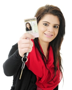 North Carolina Teen With a Drivers License and Car Keys