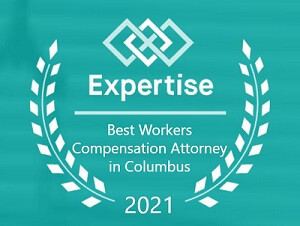Expertise Best Workers Compensation Attorneys in Columbus 2021 Award