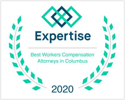 Expertise Best Workers Compensation Attorneys in Columbus 2020 Award