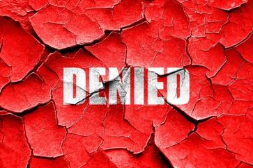 Deteriorating Denied Sign
