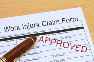 Workers' comp injury claim form
