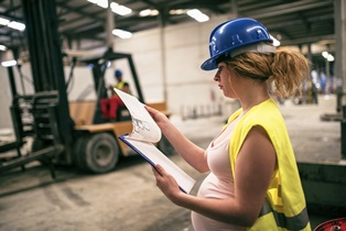 worker's comp for pregnant workers