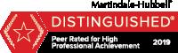 Arthur's Martindale Hubbard Badge