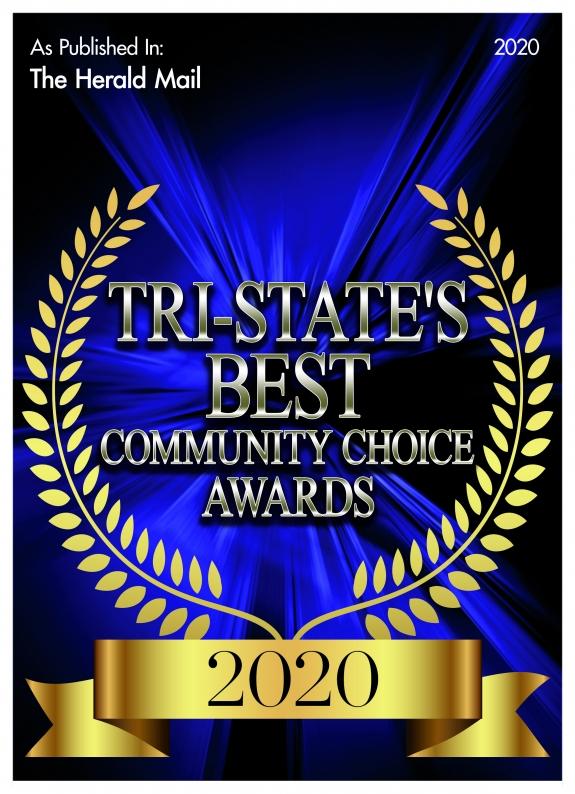 tri-states best Community choice Awards badge