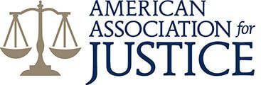 AJ's american association for justice badge