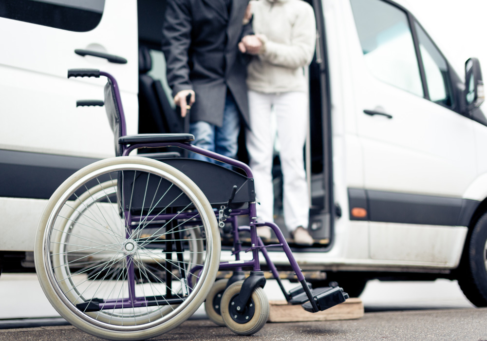 Hagerstown paratransit accidents in Maryland