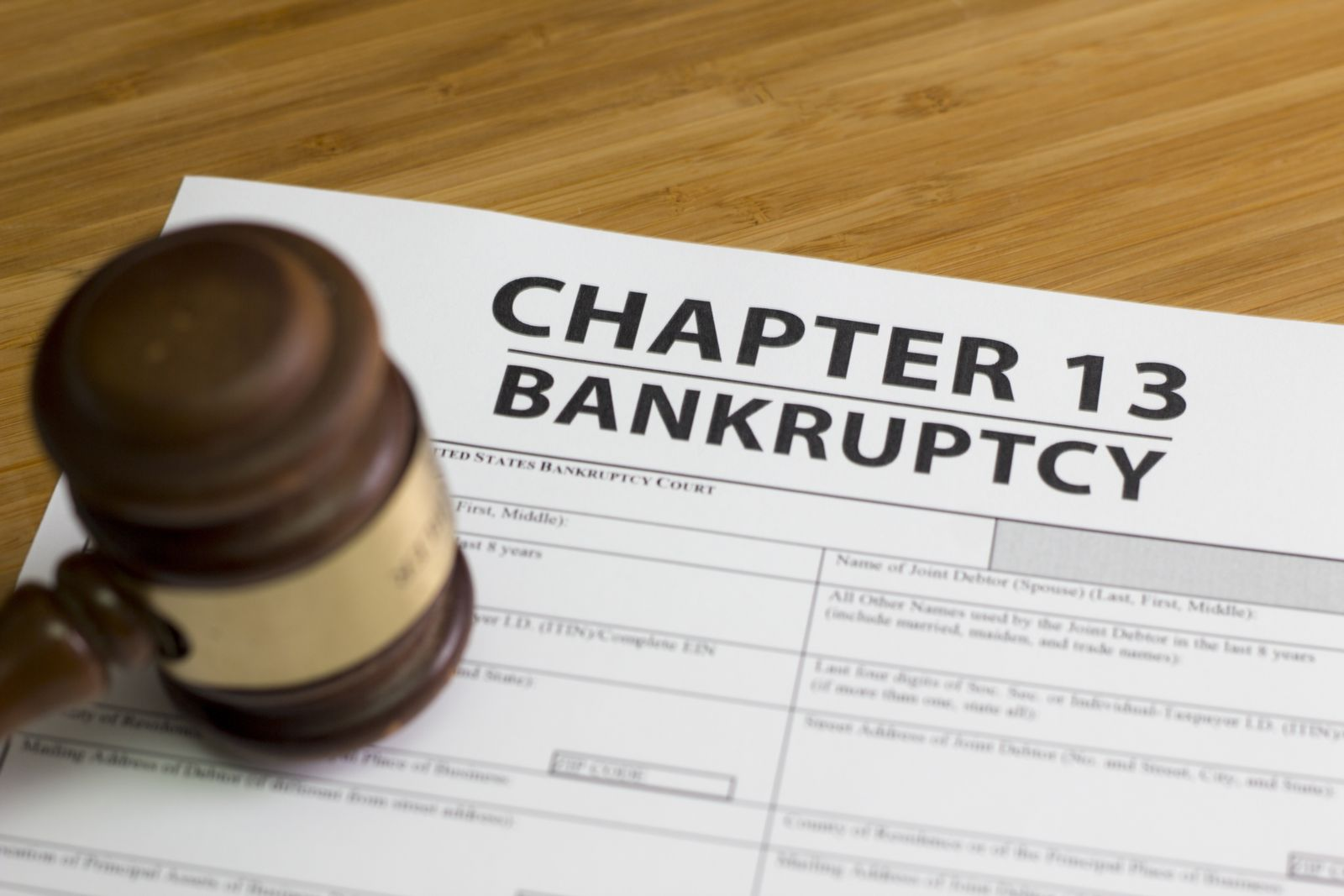 Chapter 13 Bankruptcy Attorneys in Dallas, Texas