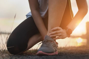 Get help with post-surgery ankle pain.