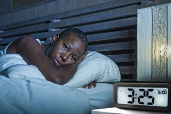 Piriformis syndrome can make it hard to sleep.