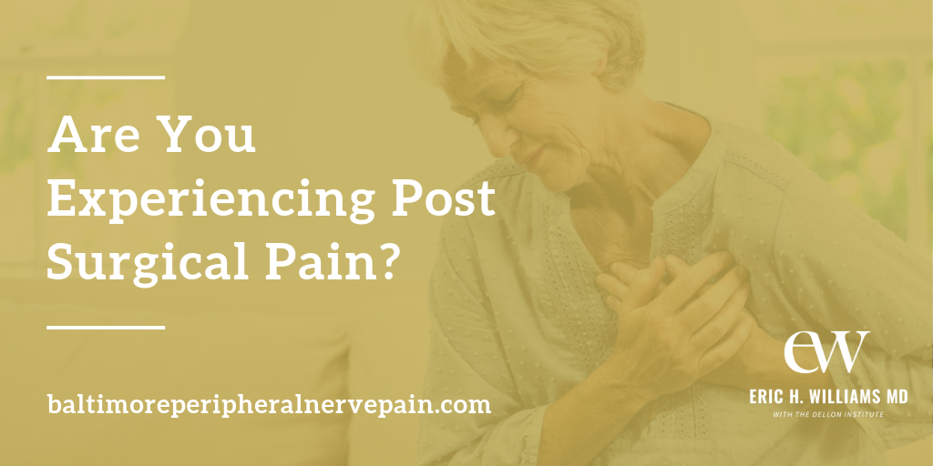 post surgical pain treatment