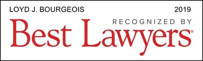 Loyd J. Bourgeois Best Lawyers 2019