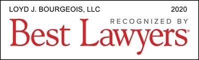 Loyd J. Bourgeois, LLC Best Law Firms 2020