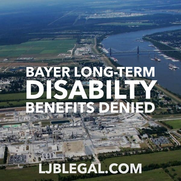 Bayer Luling Long-Term Disability Benefits Denied