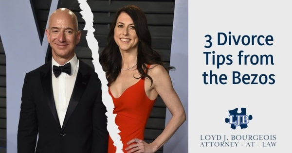 Tips from the Bezos Divorce