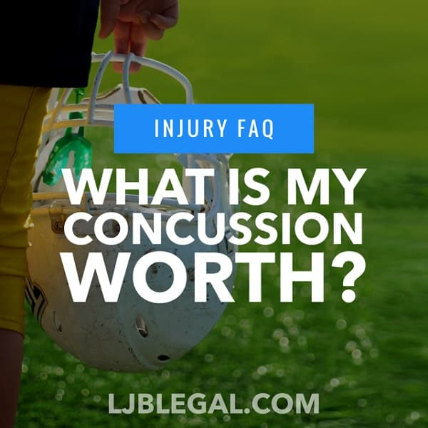 What is my Concussion Injury Worth?
