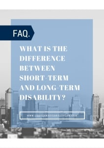 What is the difference between short-term and long-term disability?