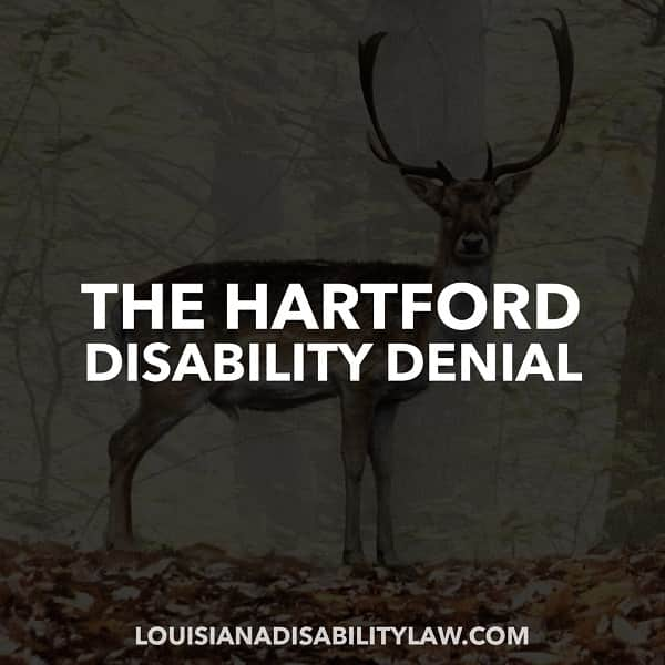 The Hartford Disability Denied