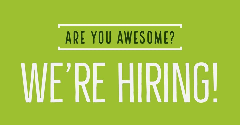 Are You Awesome? We're Hiring