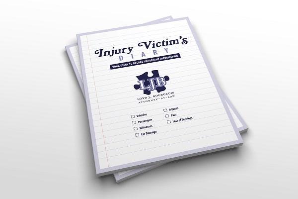 Injury Victim's Diary