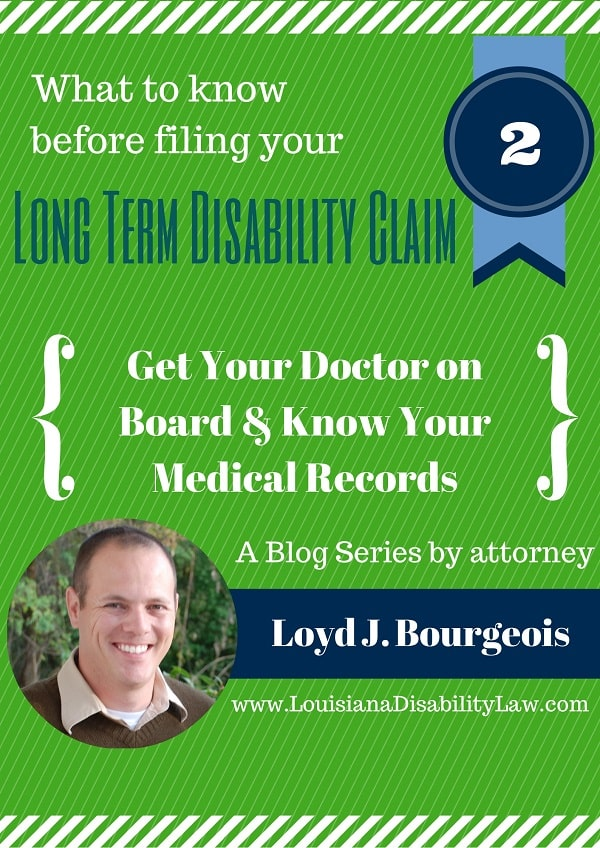 Know Your Medical Records for Long-Term Disability