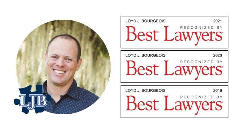 Luling, LA Personal Injury Attorney Recognized in Best Lawyers in America