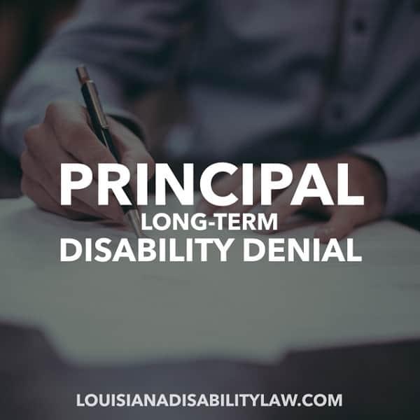 Principal Long-Term Disability Denial