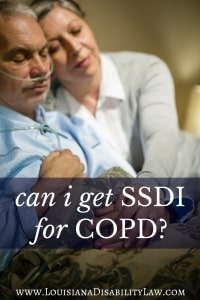Social Security benefits for COPD