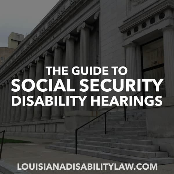 Guie to Social Security Disability Hearings