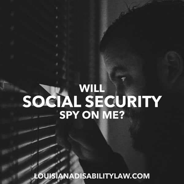Will Social Security Spy on Me?