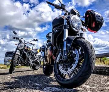 St Charles Parish Motorcycle Helmet
