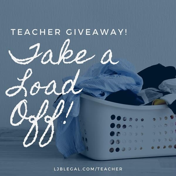 Teacher Giveaway: Take a Load Off