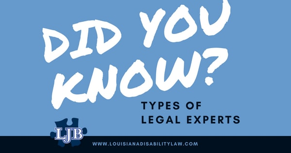 Types of Legal Witnesses for personal injury cases