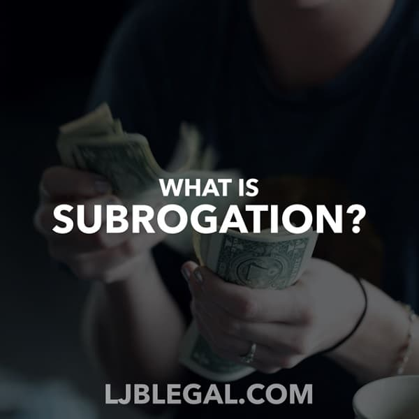 What is subrogation?