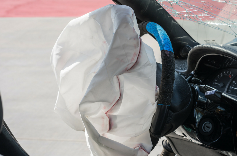 What should you do if your airbag deploys?