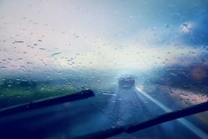 dangerous road conditions wet pavement