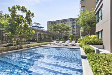 Apartment Complex Pool