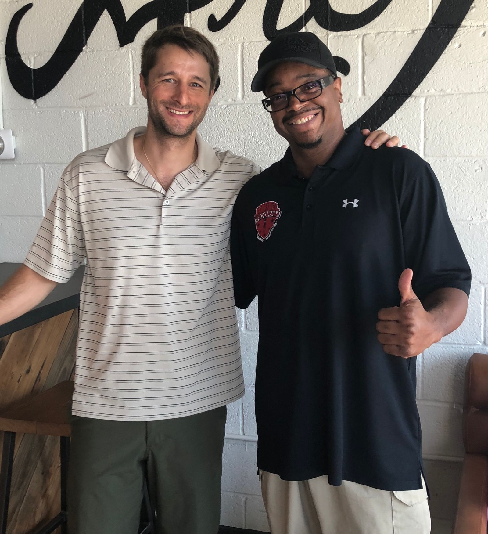 Attorney Russell Button with Marcus Moore - Jumpstart Founder & Back To School Event