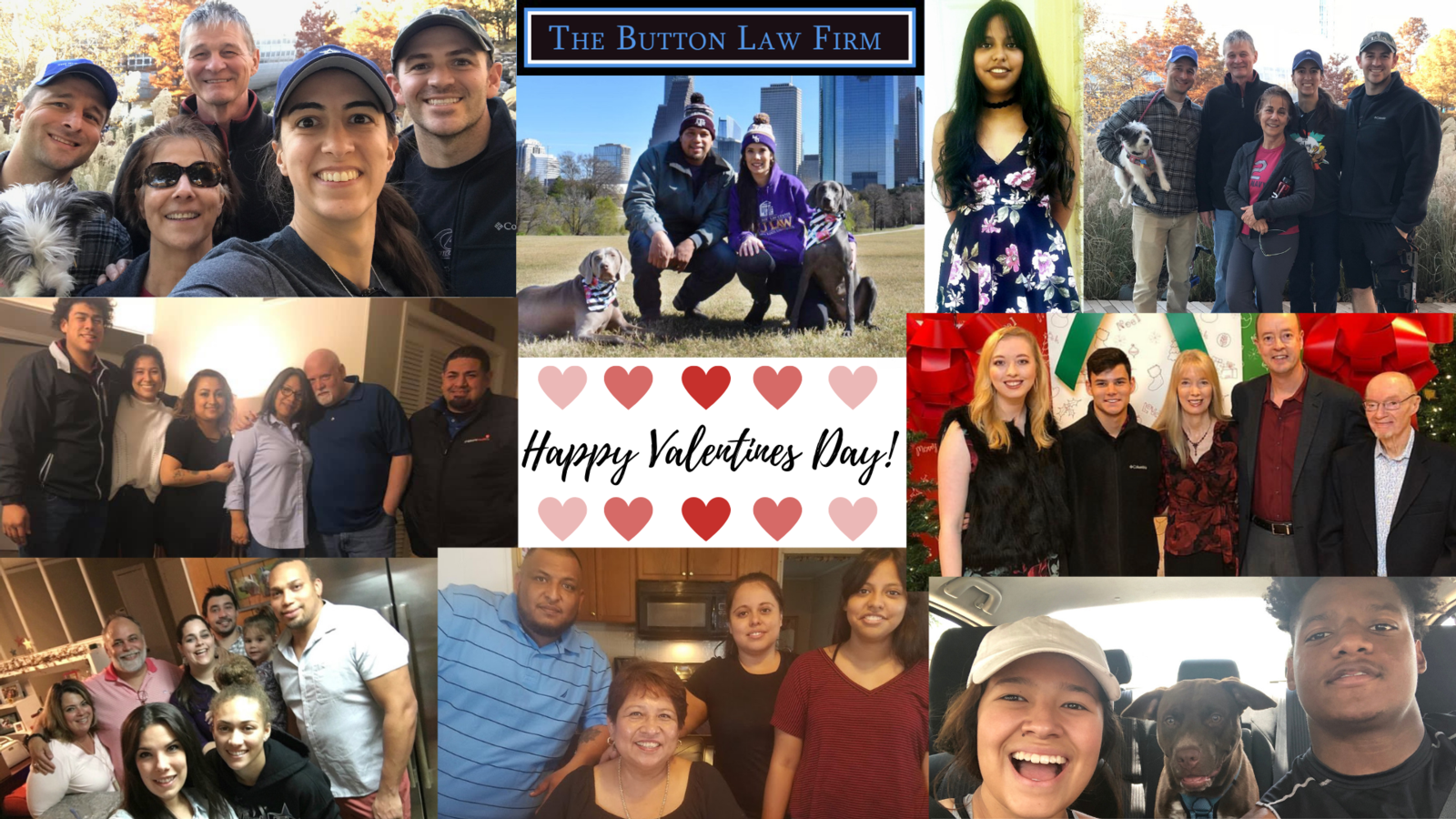 The Button Law Firm celebrates Valentine's Day