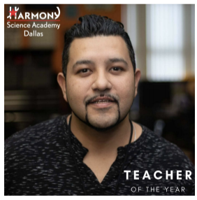 May 2019 Teacher of The Month, Fernando Cepeda