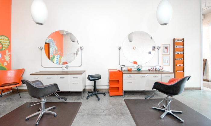 The Orange Salon interior