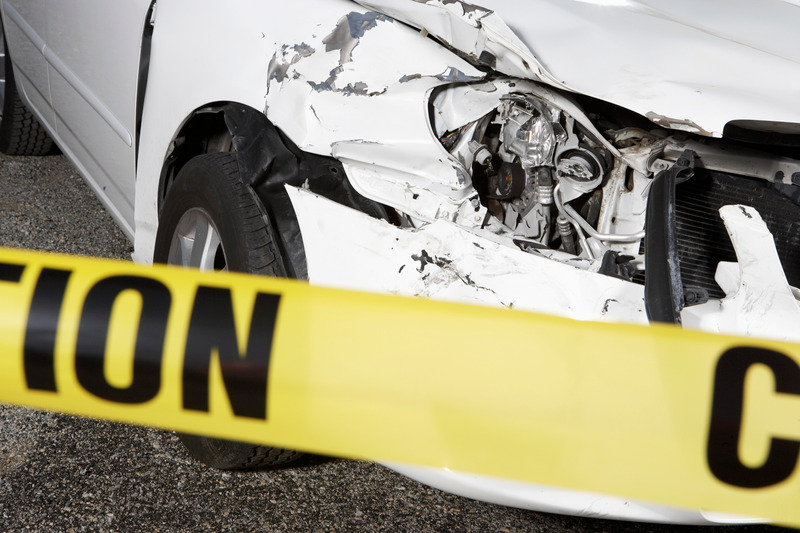 Car accident caused by a drunk driver