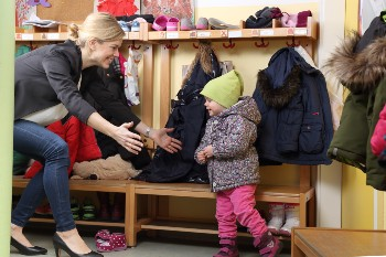 Daycare pickups must follow strict safety rules.