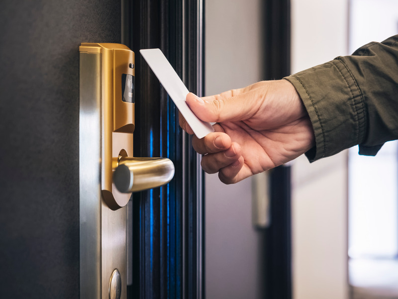 key card security for hotel rooms