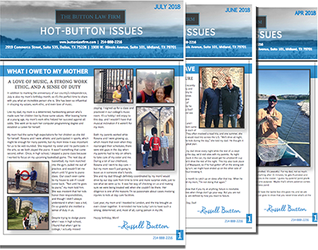 Hot-Button Issues Newsletters