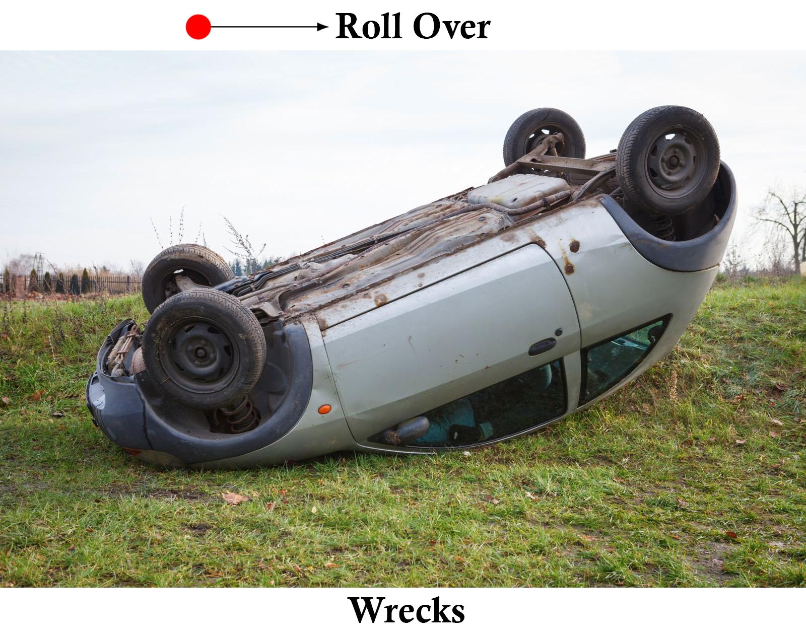 roll over wrecks dallas texas