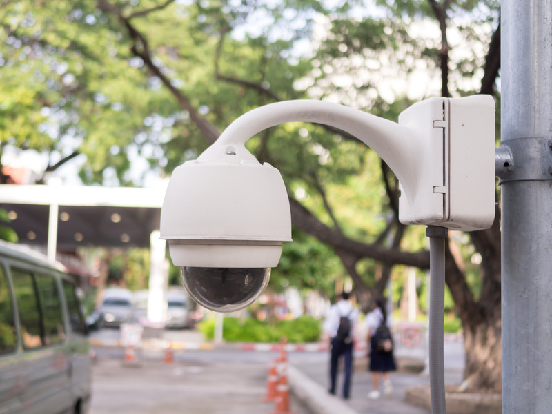 Storefront security system in Dallas, Texas